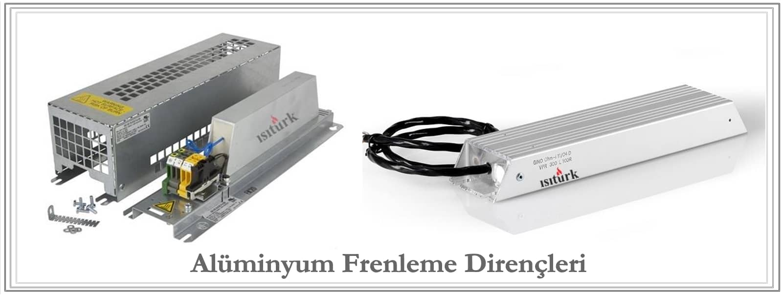 Aluminyum Frenleme Direnci İmalatı
